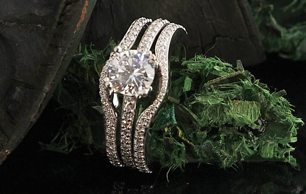 Engagement Ring R-2816 & R-968B (2)