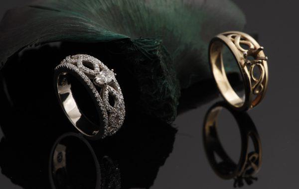 Custom Modernized Engagement Ring
