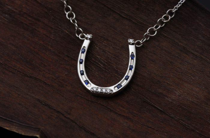 Custom Horseshoe Necklace