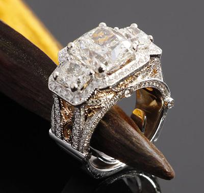 Custom Jewelry Design - Albert Kaz Jewelry Store - Fresno CA