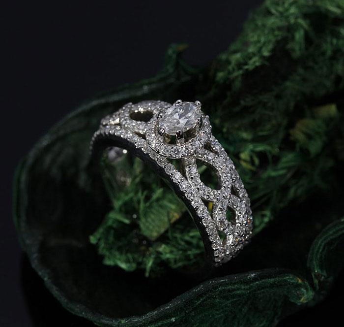 Custom Diamond Infinity Band