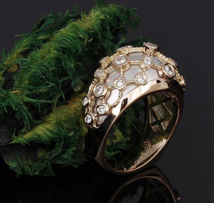 Rose Gold Kaz Couture Ring