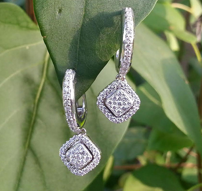 Custom Diamond Earrings