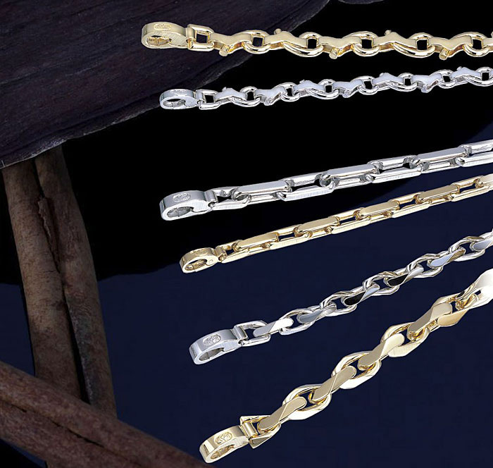 Kaz Hand Made Link Bracelets