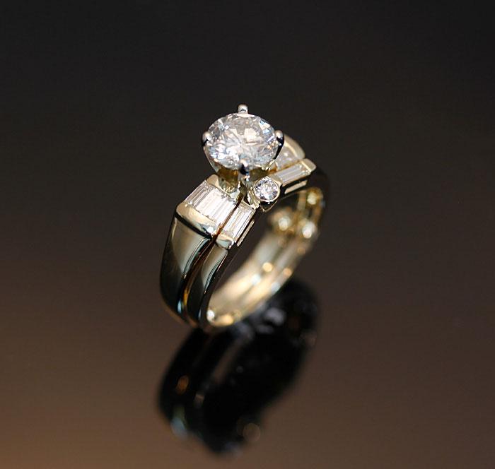 Custom Matching Diamond Band