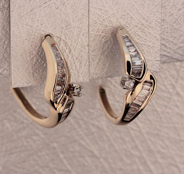 Custom Diamond Earrings