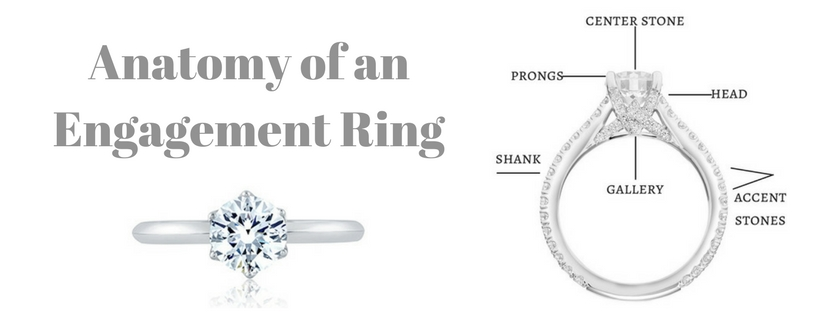 Ring Anatomy 101:  A Basic Guide to Engagement Ring Terminology