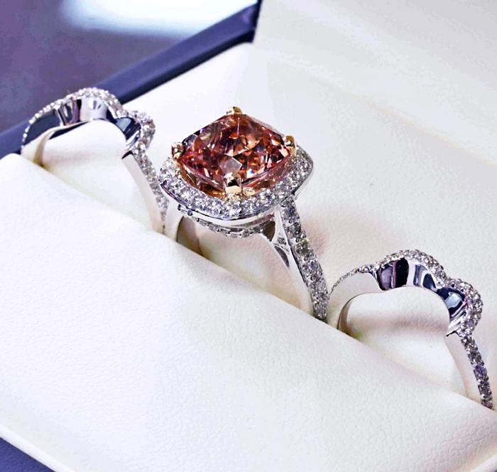 Custom Morganite Engagement Ring
